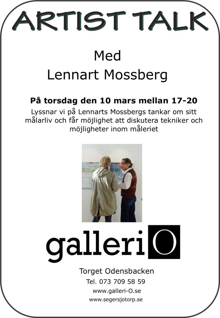 Mossberg artist talk